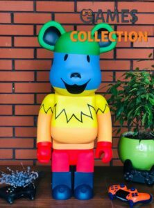 Bearbrick x Grateful Dead Dancing Bears 1000% (70см) Rainbow