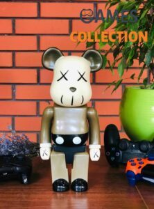 Bearbrick KAWS Brown 400% (28 см)