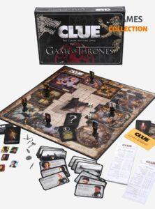Настольная игра Clue (Game of Thrones)
