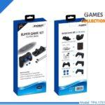 Slim Pro игровой набор двойной зарядки + наушники + силиконовый чехол + стики + основа TP4-1751