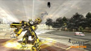 Transformers: The Game (XBOX360) Б/у