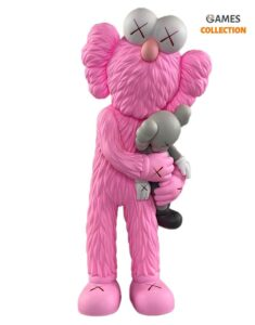 KAWS TAKE (Pink/Grey) 32см