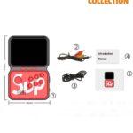 Портативная игровая приставка GAME BOX POWER M3 800 in 1 (Красная)