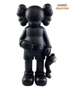 KAWS SHARE COMPANION Black/Black (31см)