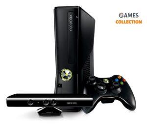 Xbox 360 Slim/E 1 TB Freeboot 100 игр+Kineсt