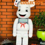 Bearbrick Stay Puft Marshmallow Man 1000% (70см) White