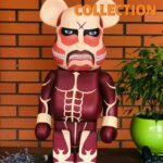 Bearbrick x Attack On Titan Super Large Giant 1000% (70см) Brown
