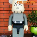 BEARBRICK - KAWS 2002 Grey 1000% (70 см)