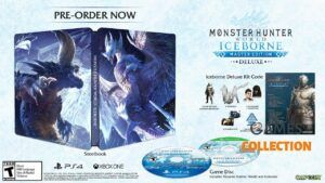 Monster Hunter World Iceborne: Master Edition Steelbook (PS4)