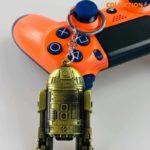 R2-D2 «Звёздные войны» золотой (Брелок)