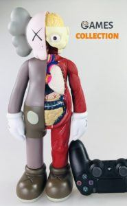 KAWS DISSECTED COMPANION Серо-Красный