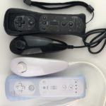 Wii Remote и контроллер Nunchuck с силиконовым чехлом Белый