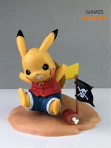 Pikachu Monkey.D.luffy
