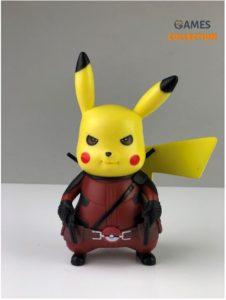 Deadpool Pikachu (Фигурка 13см)