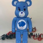 BEARBRICK Medicom Care Bears Grumpy 400%