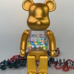 My First Bearbrick Baby Gold 400%