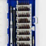 Набор прецизионных отверток 56 насадок для ремонта (a018)