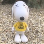 KAWS X Peanuts Snoopy Joe Kaws Vinyl Sculpture