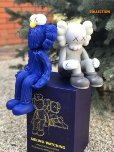 Kaws BFF Seeing_Watching Limited Edition Blue