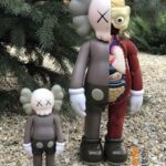 KAWS Companion Open Edition Brown 20 см