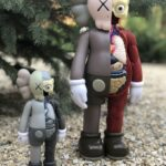 Kaws Flayed Companion Open Edition Grey – 20 см