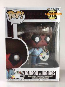 funko pop 319 deadpool ad bob ross (Фигурка)