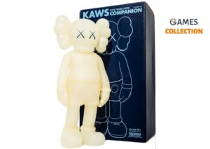 KAWS Five Years Later Companion Figure Glow In The Dark (Blue Eyes)