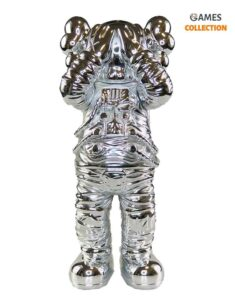 KAWS Holiday Space Figure Silver 30 см