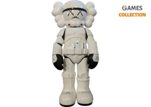 KAWS Star Wars Storm Trooper Companion Vinyl Figure White
