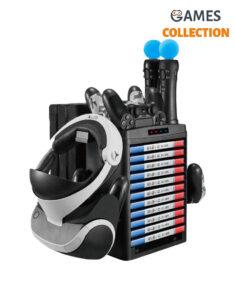 Multifunction Vertical Stand For PS4 Slim/Pro/PSVR/PSVR2 (KJH-PS4-020)