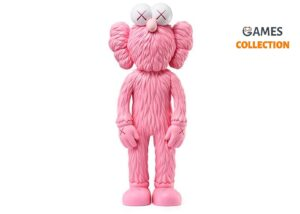 KAWS BFF Open Edition Vinyl Figure Pink