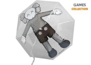 KAWS Holiday Companion Umbrella Clear