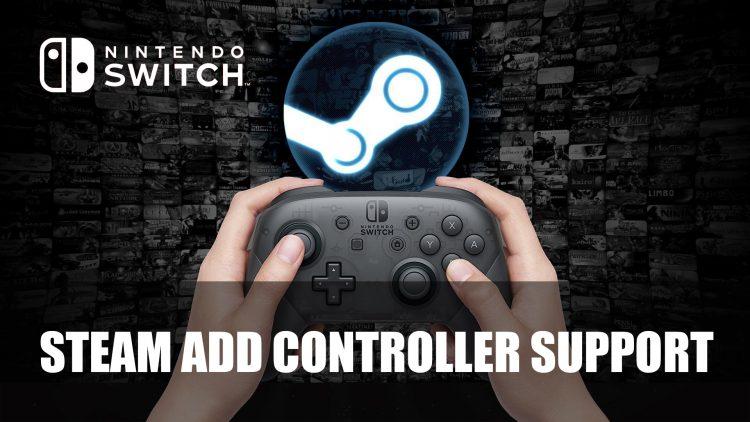 Поддержка Pro Controller от Nintendo Switch для Steam
