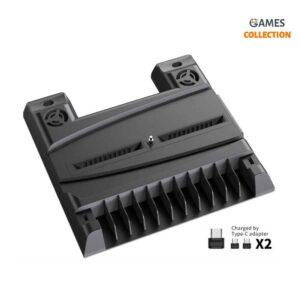 DOBE TP5-0593 Многофункциональная подставка для PlayStation 5 (Черная)