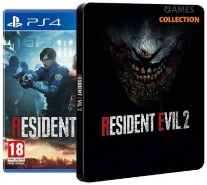 Resident evil 2 Remake Steelbook Edition (PS4)