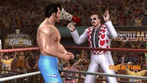 WWE Legends of Wrestle Mania (XBOX360)