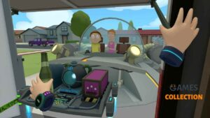 Rick and Morty Virtual Rick-Ality (PS4) (PSVR)
