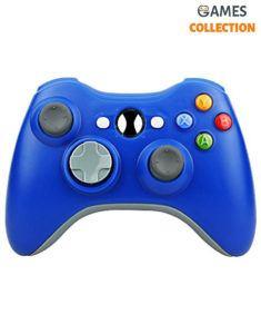 Универсальный беспроводной контроллер (Xbox 360) Blue
