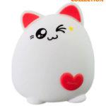 Силиконовый Ночник Super Cat Цвета (Светильник)