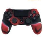 Черно-красный чехол джойстик (PS4)