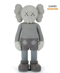 KAWS Five Years Later Companion Figure Grey