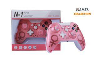Проводной джойстик Xbox One Розовый