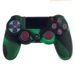 Черно-зеленый чехол контроллера (PS4)