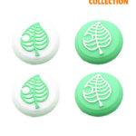 Защитный колпачок для Стиков Switch Lite Green Зеленый листик
