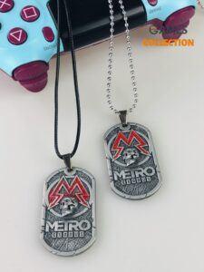 Жетон Metro (Украшение на шею)