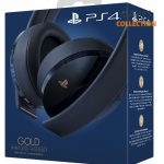 PlayStation Gold Wireless Headset 500 Million Limited Edition