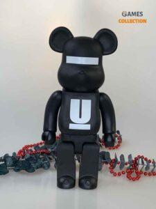Bearbrick x MEDICOM UNDERCOVER LOGO 400% Black