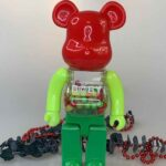 MY FIRST BE@RBRICK B@BY Green 400% (28cm)