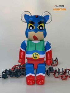 BEARBRICK Crayon Shin-chan ACTION KAMEN 400%