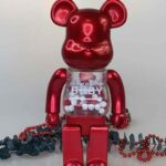 MY FIRST BE@RBRICK B@BY Red 400% (28cm)